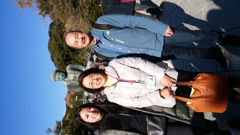 In front of the Great Buddha