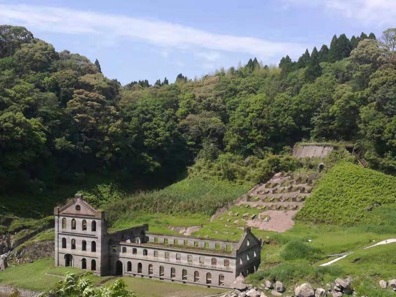 有日本絕境之稱的曾木發電厰遺跡@伊佐