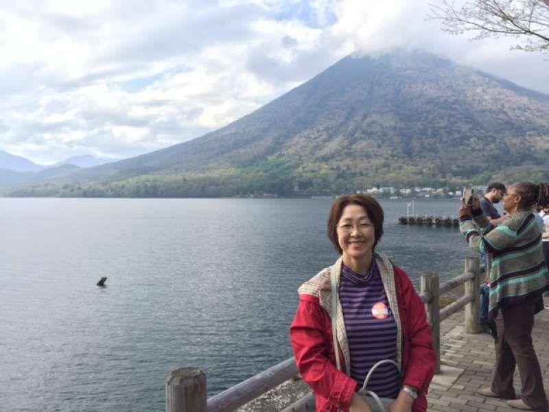 Lake Chuzenji in Nikko National Park in the city of Nikko, Tochigi Prefecture. It's cool in summer, so It's a  ideal summer resort.