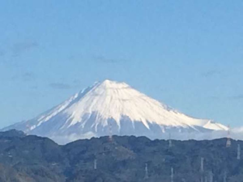 Great view of Mt. Fuji!