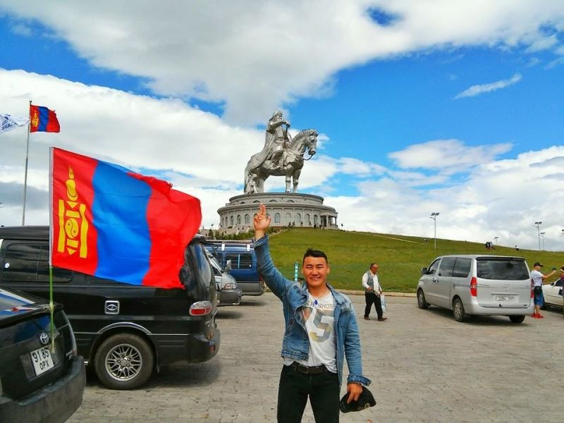 The biggest statue of Chinggis khan in the world. It is not only a statue but a complex of museums and others.