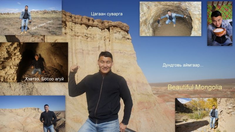 The Gobi is completely different from other parts of Mongolia.