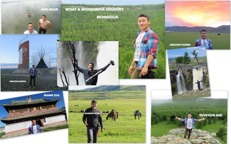 The central part of Mongolia is one of the well-known destinations for tourism.