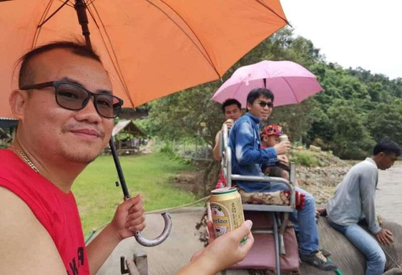 Vangvieng Tour, guest from Cambodia