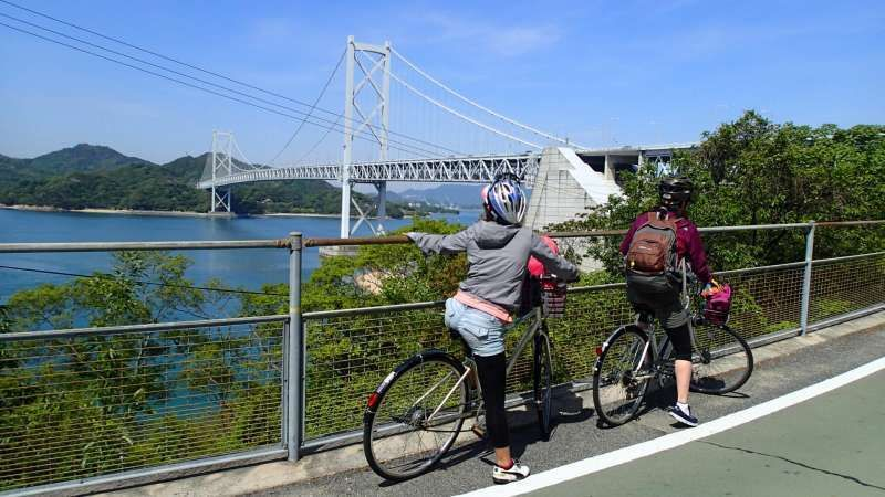 Shimanami bridge-hopping cycling