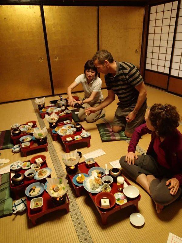 Koyasan -staying at a temple