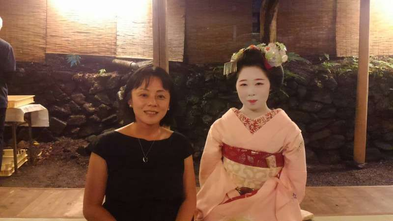 Dinner with Maiko