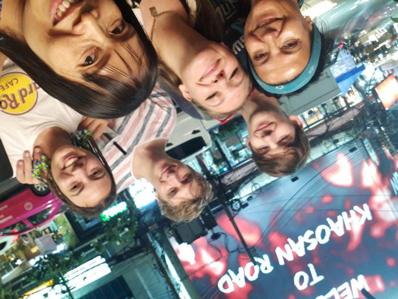 Lovely teen group