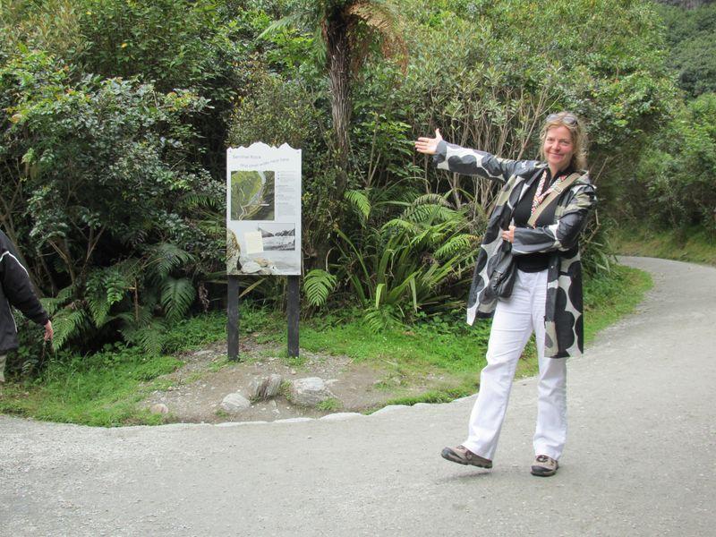 Kirsten loves showing off New Zealand