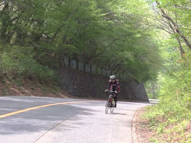Riding uphill is one of my most favorite sport. I sometimes go cycling in the mountains. Challenging Tour de Nasu course!