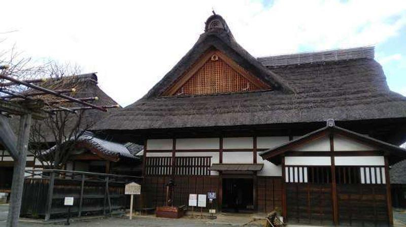 traditional Japanese style building at Ashikaga Gakko