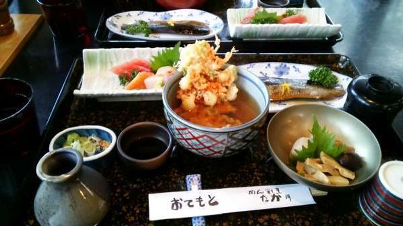 One of the typical Japanese set meal