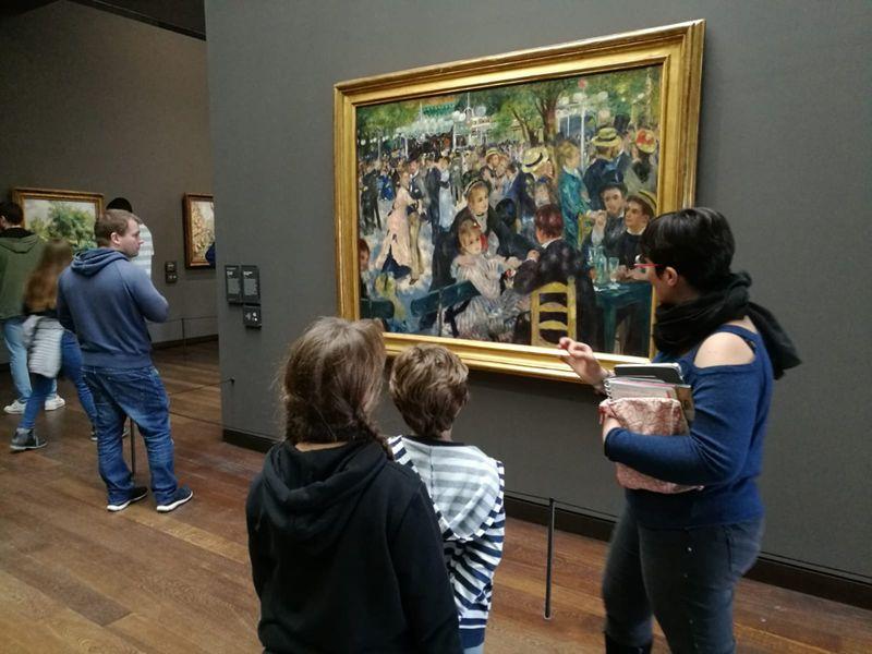 Renoir, Le bal au Moulin de la Galette, Musée d'Orsay
