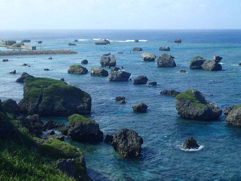 TSUNANI rocks, MIYAKO islands