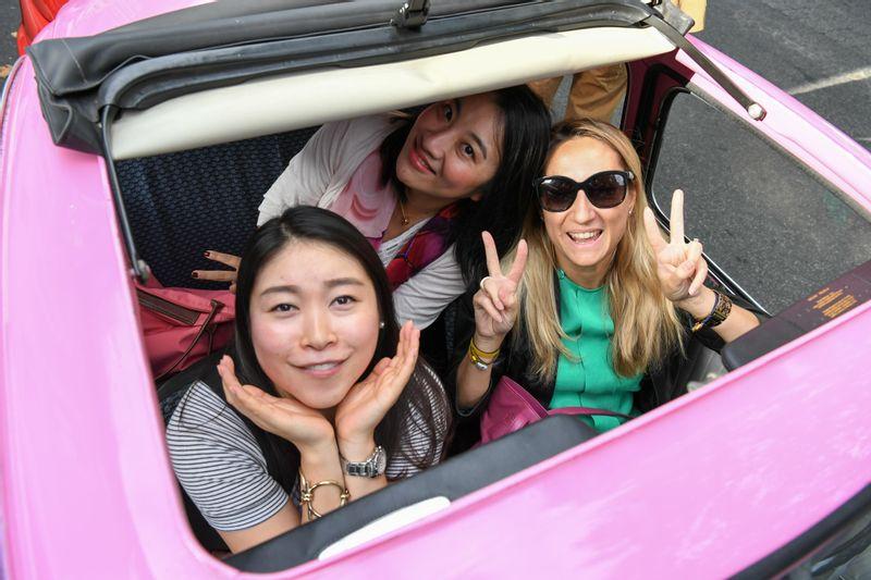 Enjoy a MAGICAL Fiat 500 tour in Rome!