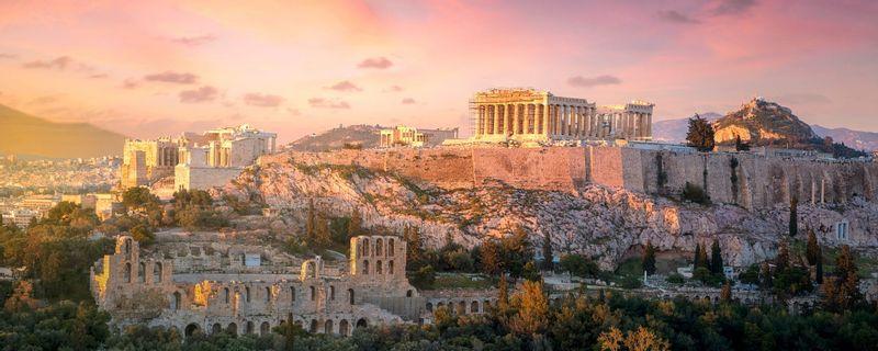 Parthenon temple, archeological site of Acropolis, Athens