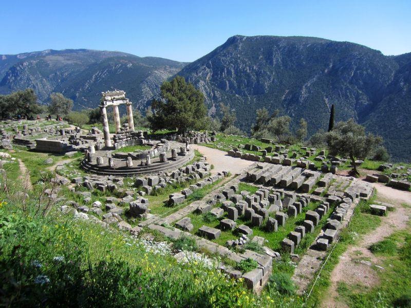 Delfi archeological site