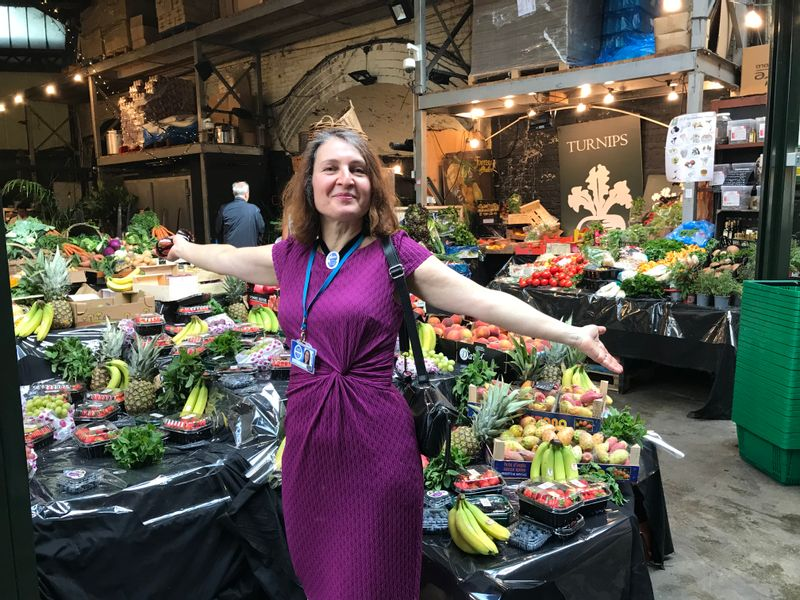 Vibrant Borough Market- selling food for over 800 years!