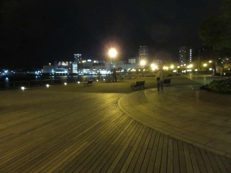 Night at Verny Park, Yokosuka, Kanagawa