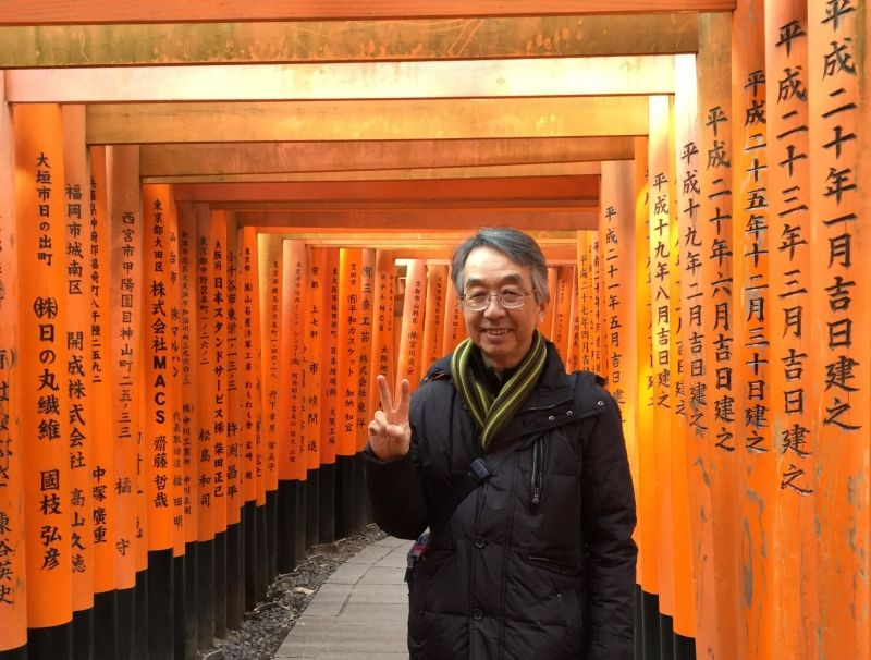 Kyoto tour, at Fushimi-Inari Shrine