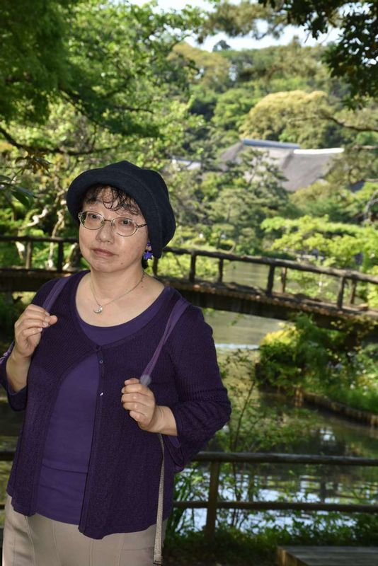 At Sankei-en Garden