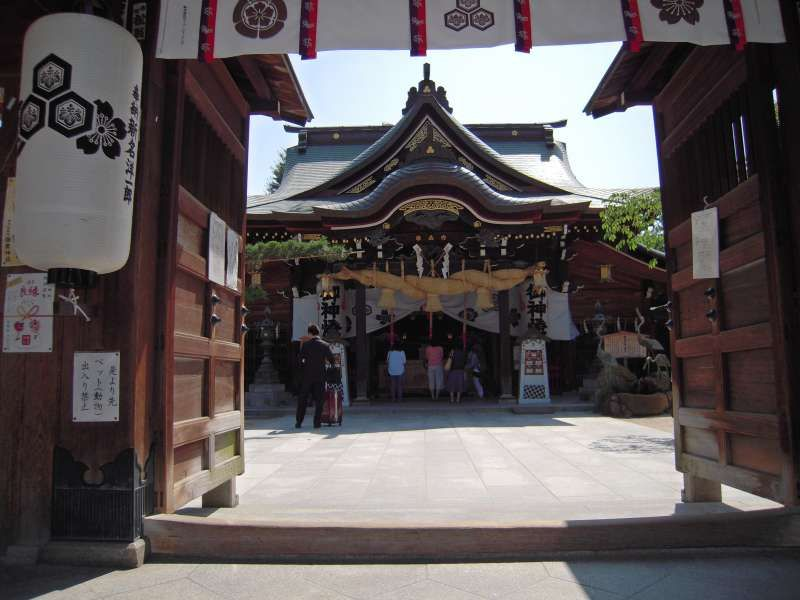 Kushida  shrine is one of the most loved shrine by locals. You can also see beautiful Float with the height of 10m in the shrine.