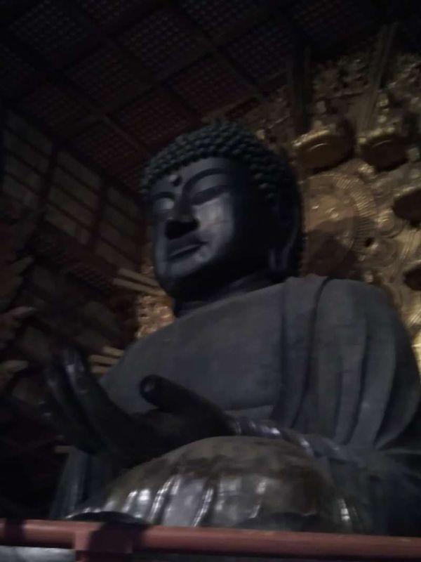The Great Buddha of Todaiji Temple