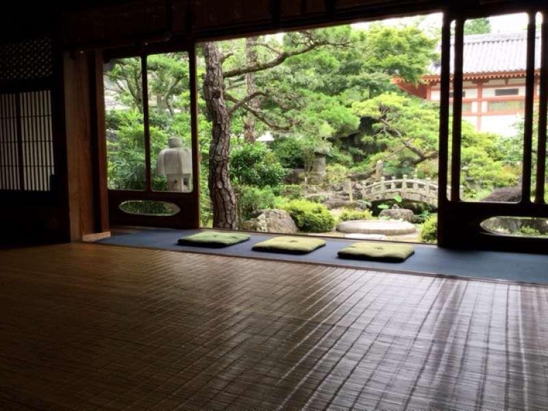 Sala de estar al estilo japonés, Templo Kosanji