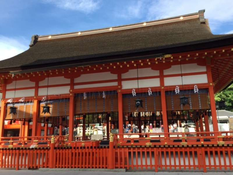 Capilla del santuario Fushimi Inari Taisha