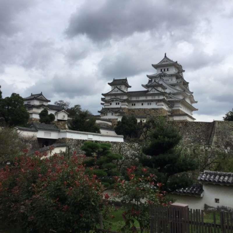 Castillo de Himeji, alias, Castillo de garza