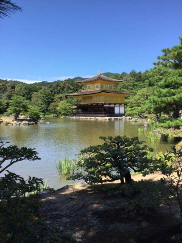 Templo Rokuonji, o Pabellón dorado