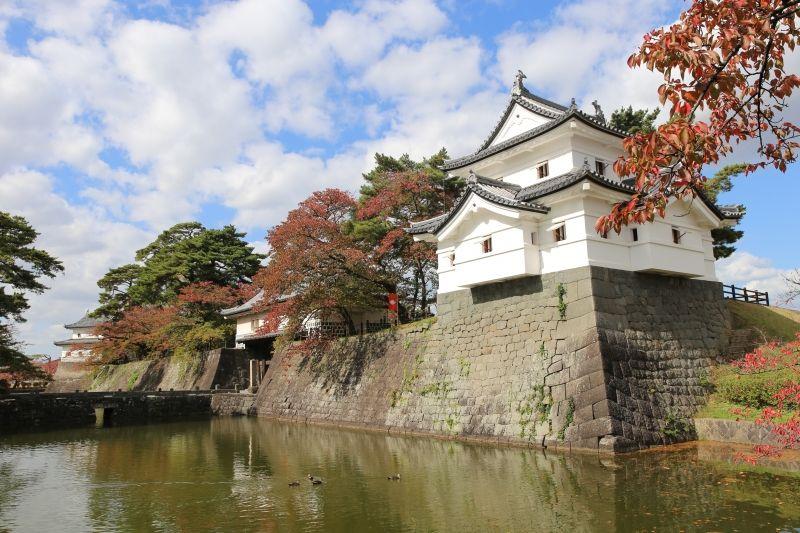 Shibata castle in Niigata prefecture.