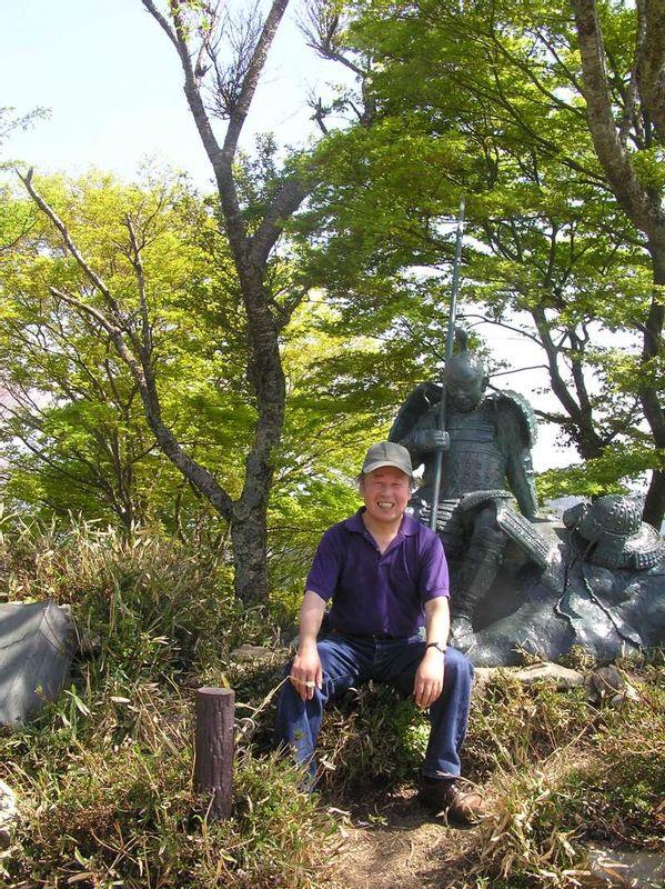 Shizugatake Old Battlefield in Nagahama city, Shiga Pref. 賤ケ岳(SHIZUGATAKE)古战场在滋贺县
