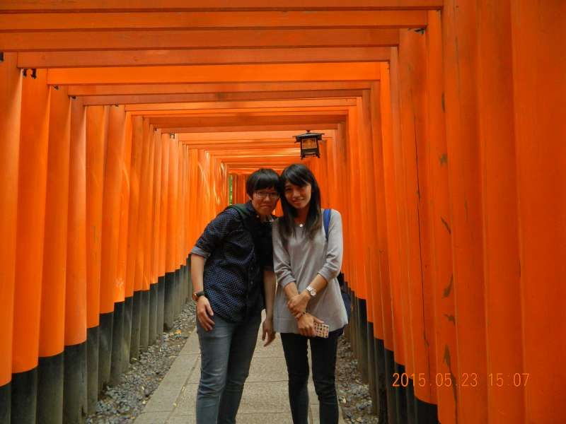 Fushimi Inari Shrine in Kyoto city, Kyoto Pref. 伏见稻荷神社在京都府
