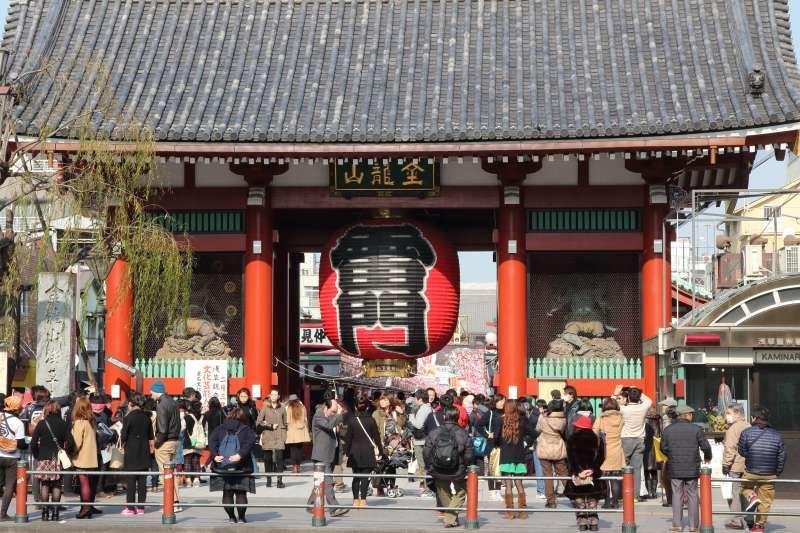 Asakusa Sensouji temple  the gate of thunder