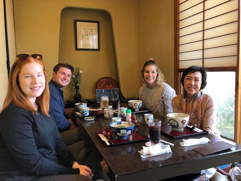 Soba resutaurant in Kamakura