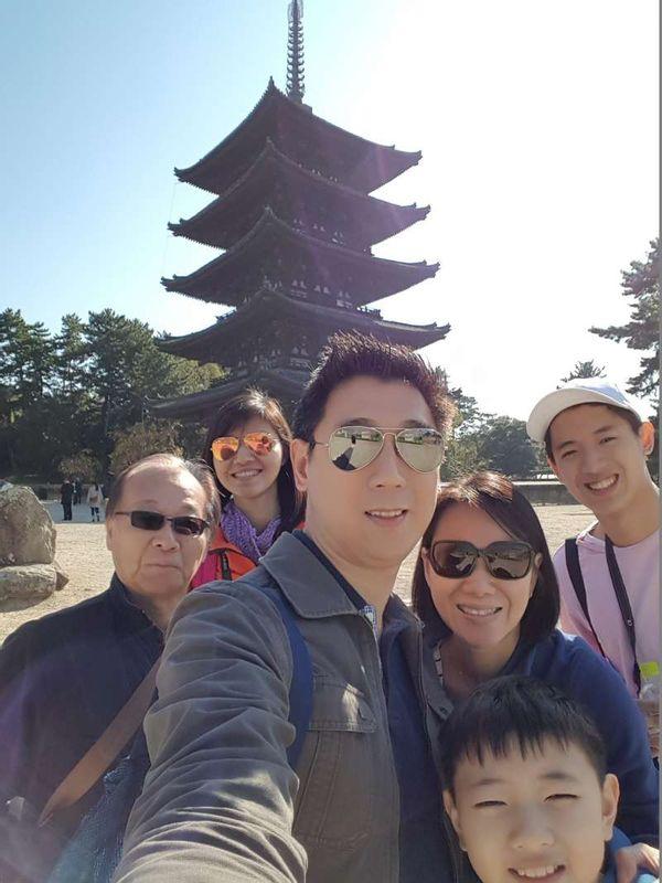 at Five storied Pagoda of Kohfukuji Temple