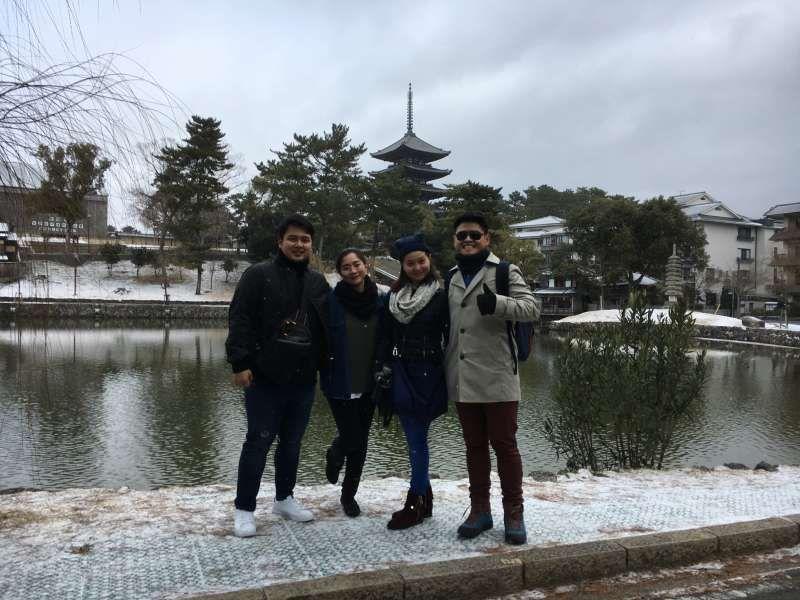 at Sarusawa-ike Pond