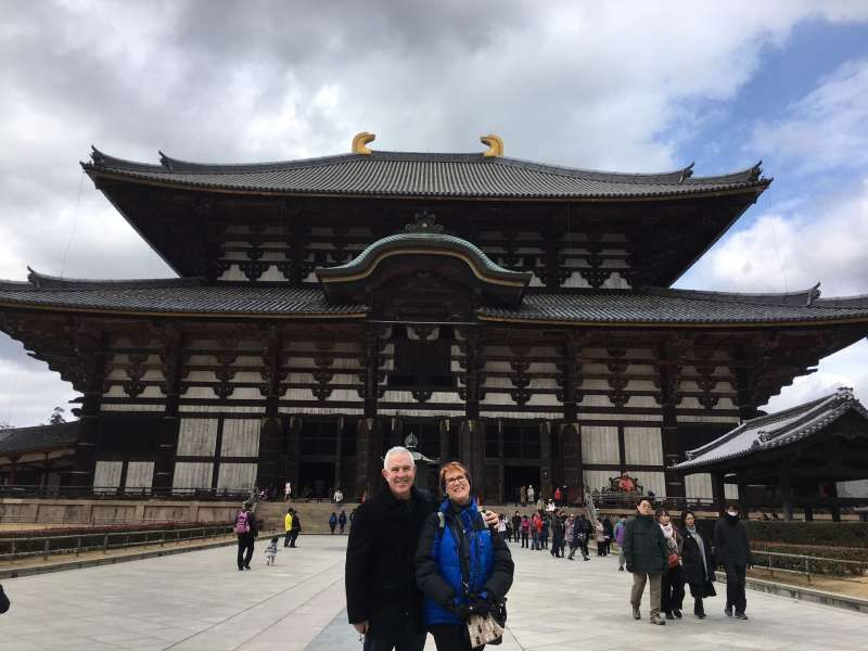 in front of Great Buddha Hall