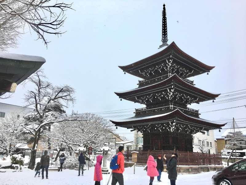 Hida Kokubunji Temple in Takayama