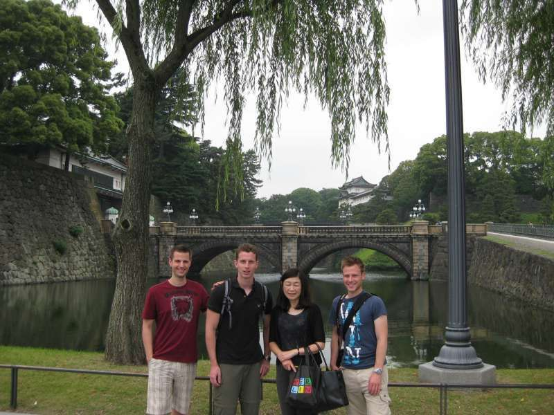 In front of the Imperial Palace