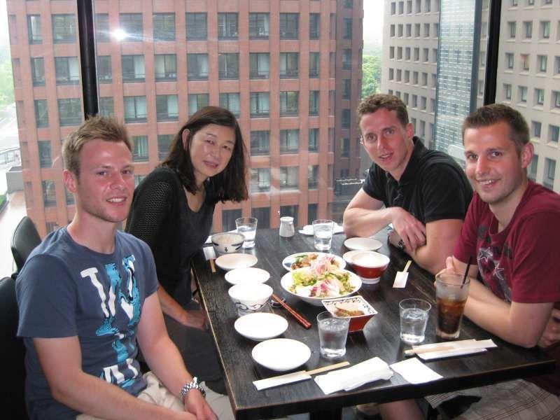 lunch in Tokyo