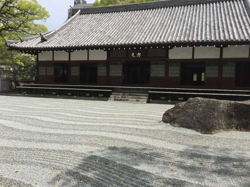 Sand garden in Jotenji temple