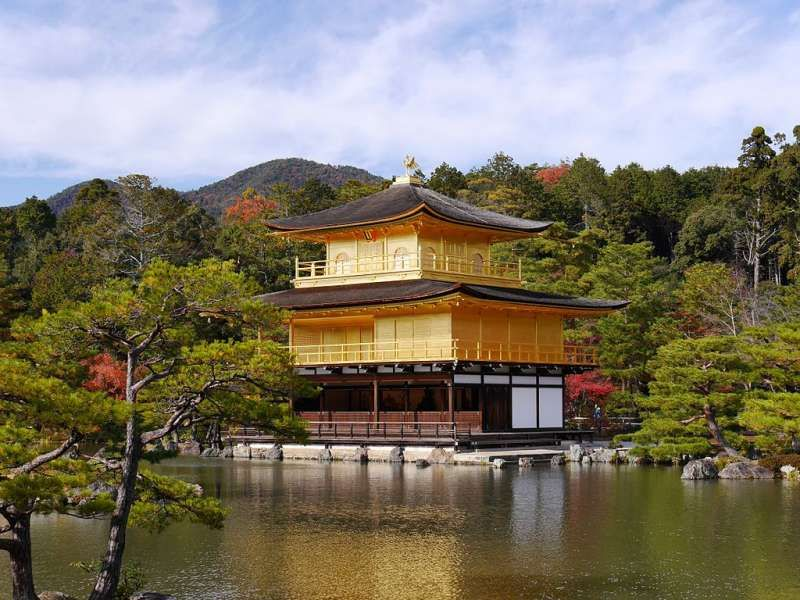 Kinkakuji Golden Temple, Kyoto