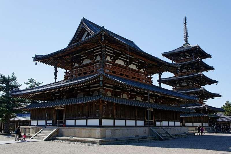 Houryuji Temple, Nara