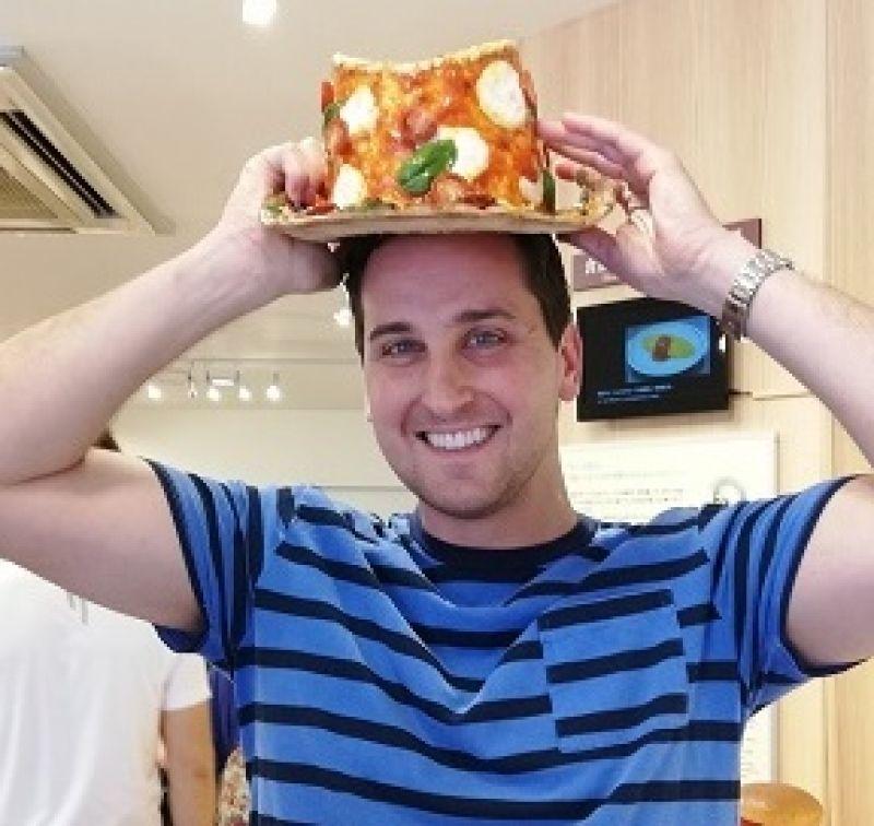 (Fake)  Pizza hat!