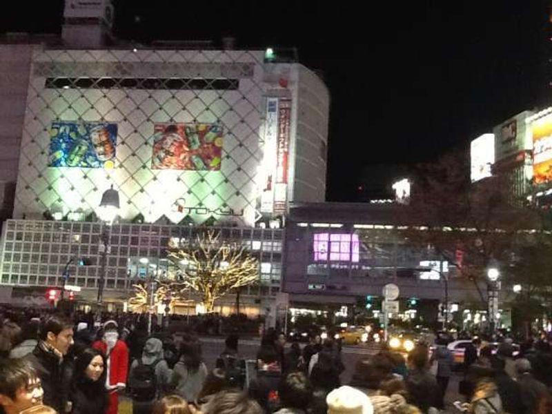Shibuya Scramble Crossing(渋谷スクランブル交差点)