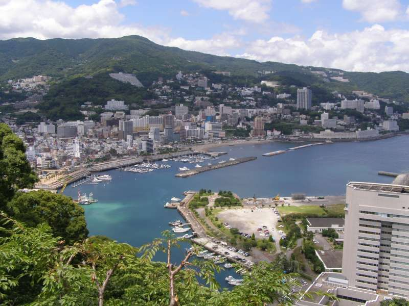 Gorgeous view of Atami Bay