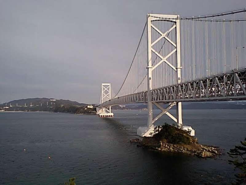 Akashi Strait Suspension Bridge