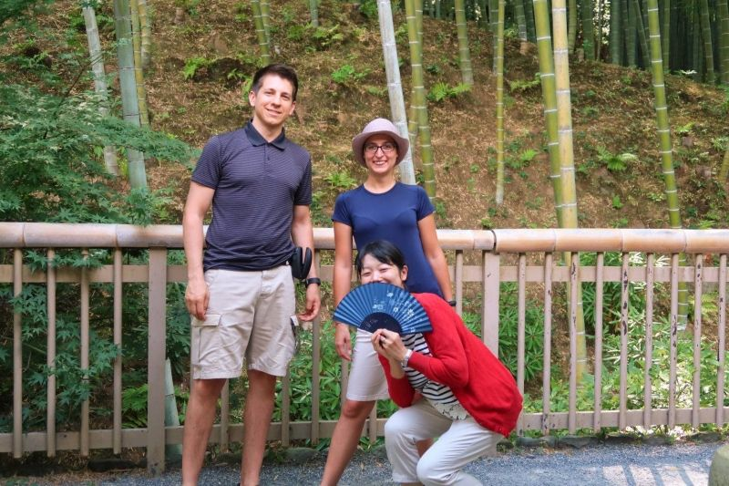 They are young honeymoon couple from Austria. I learned German a lot thanks to them.
